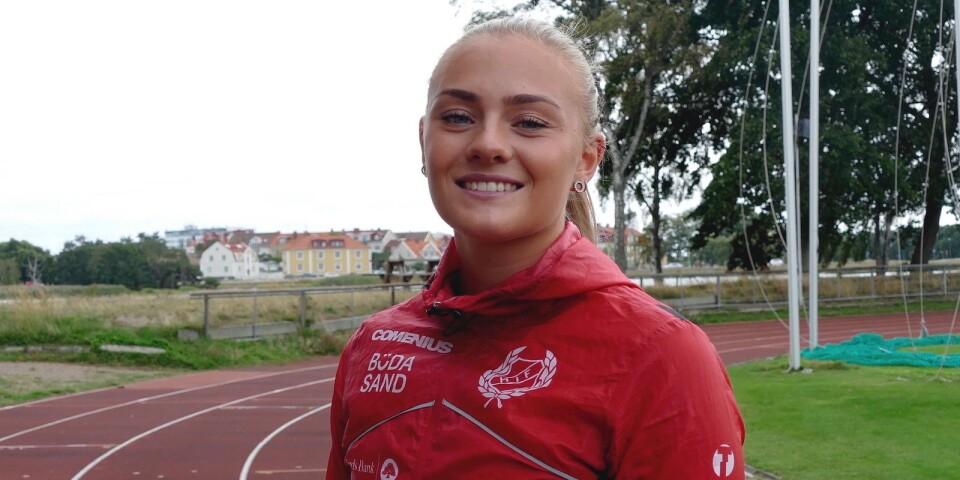 Mångkamparen Lovisa Karlsson är veckans profil i KalmarPosten.