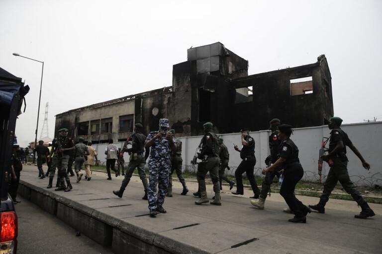 Nigeria: Protester ska stoppas till varje pris