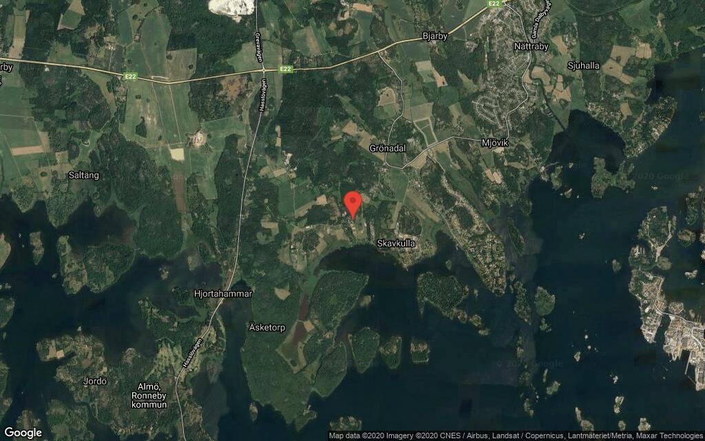 140 kvadratmeter stort hus i Nättraby sålt för 2550000 kronor