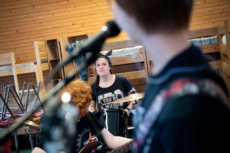 Hårdrockskollot bildar framtida rockstjärnor
