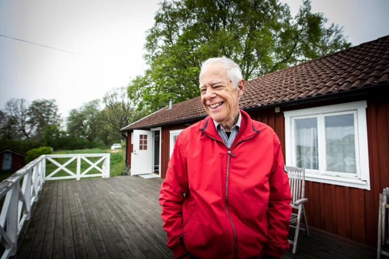 Lennart Mattson har endast positiva erfarenheter av sin stug-uthyrning.