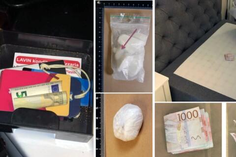 Knarklangaren klev av tåget i Nybro – då slog polisen till