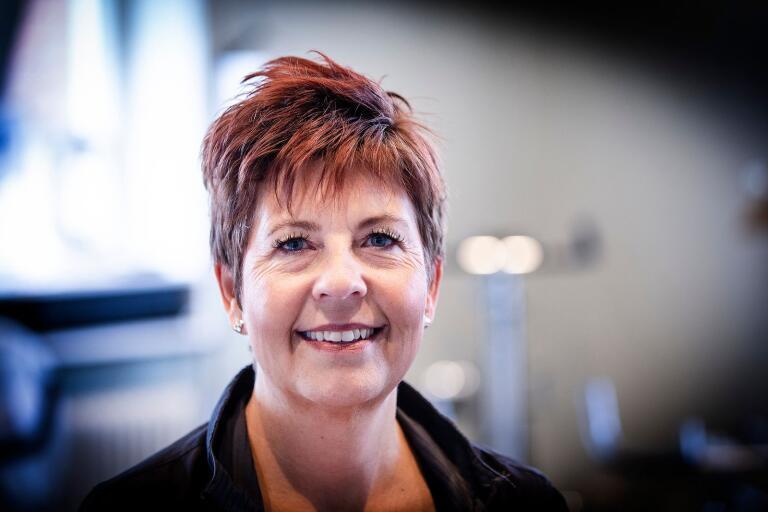 Stina Salmonsson är nominerad till årets måltidschef av White guide junior.