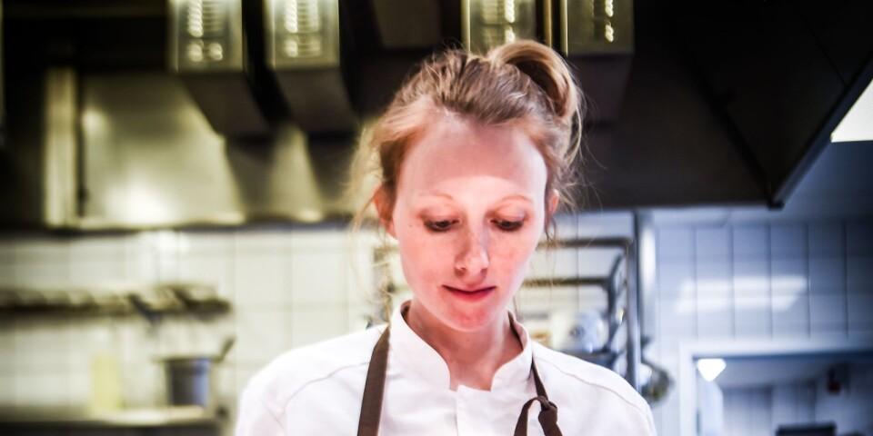 """""""Vi har en jättebred publik, allt från de som vill ha kardemummabulle med kaffe till de som vill äta en bra lunch eller en fin middag. Det är en utmaning, att hitta en balans i det"""", säger Lina Ahlin."""