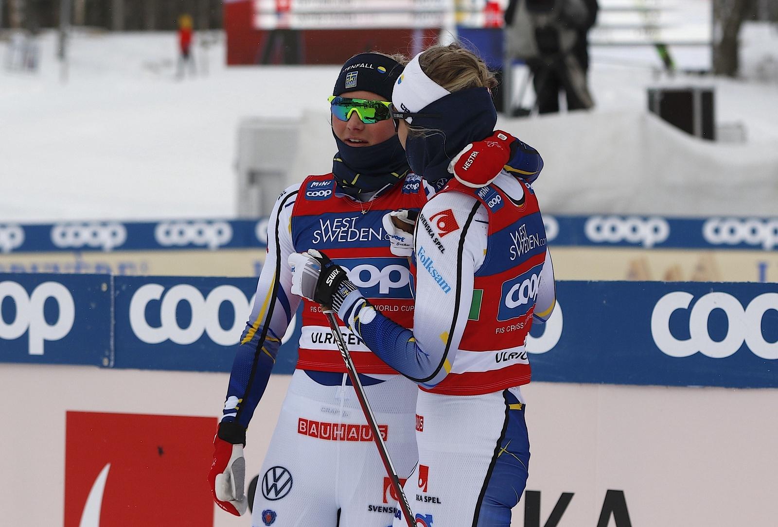 Världscupen i Ulricehamn 2021TeamsprintMaja Dahlqvist
