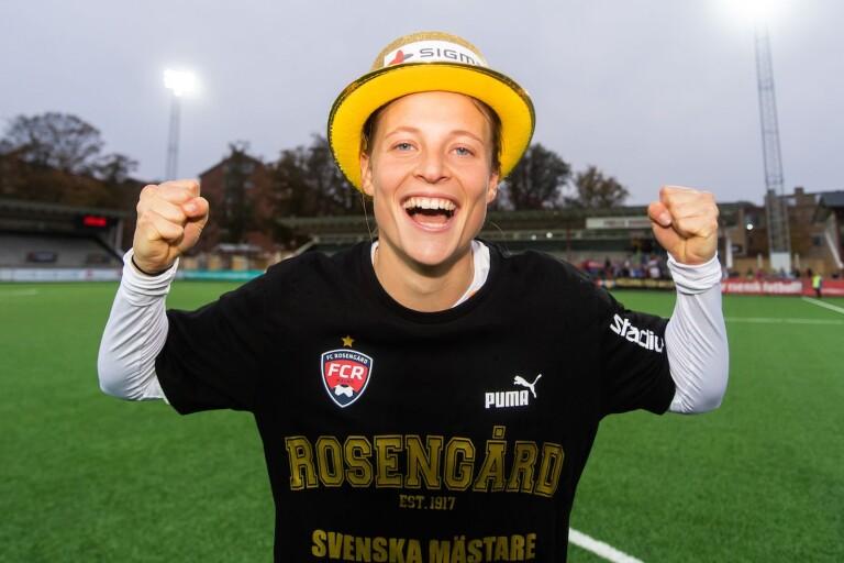 """Anna Anvegård """"Damallsvenskans bästa spelare 2019"""""""