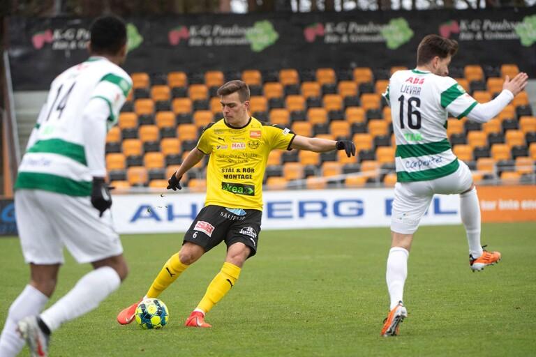 Pavle Vagic, målskytt i Mjällbys senaste match.