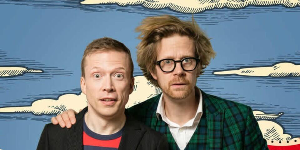 """Måns Nilsson och Anders Johansson är aktuella med en showvariant av succéprogrammet """"Så funkar det""""."""
