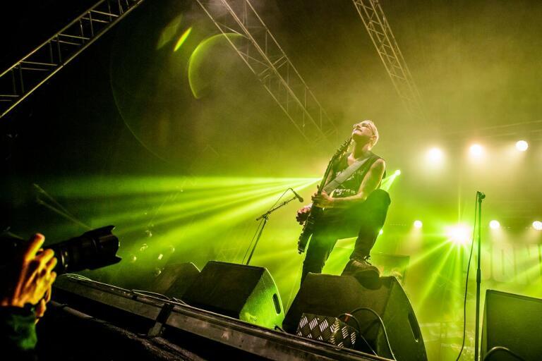 The Bones avslutade årets upplaga av Sweden Rock Festival i Norje.