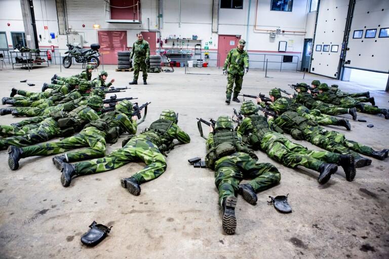 """Militärövning i Växjö i helgen: """"Kommer att märkas"""""""
