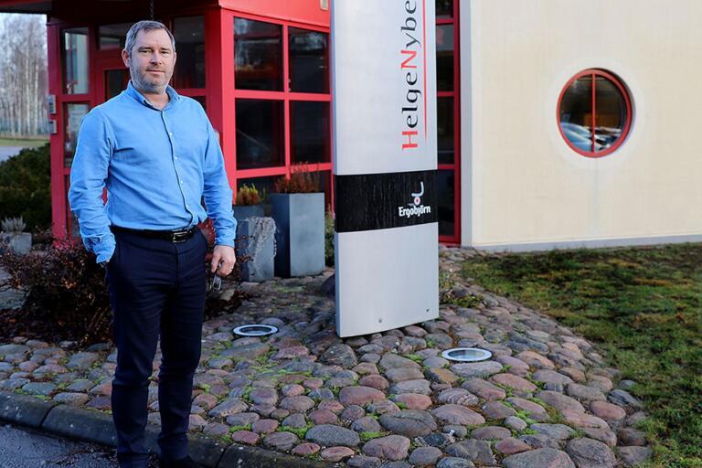 Nu har Helge Nybergs nya vd börjat