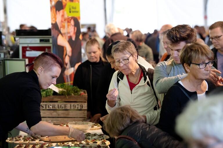 Matmarknaden i Växjö ställs in