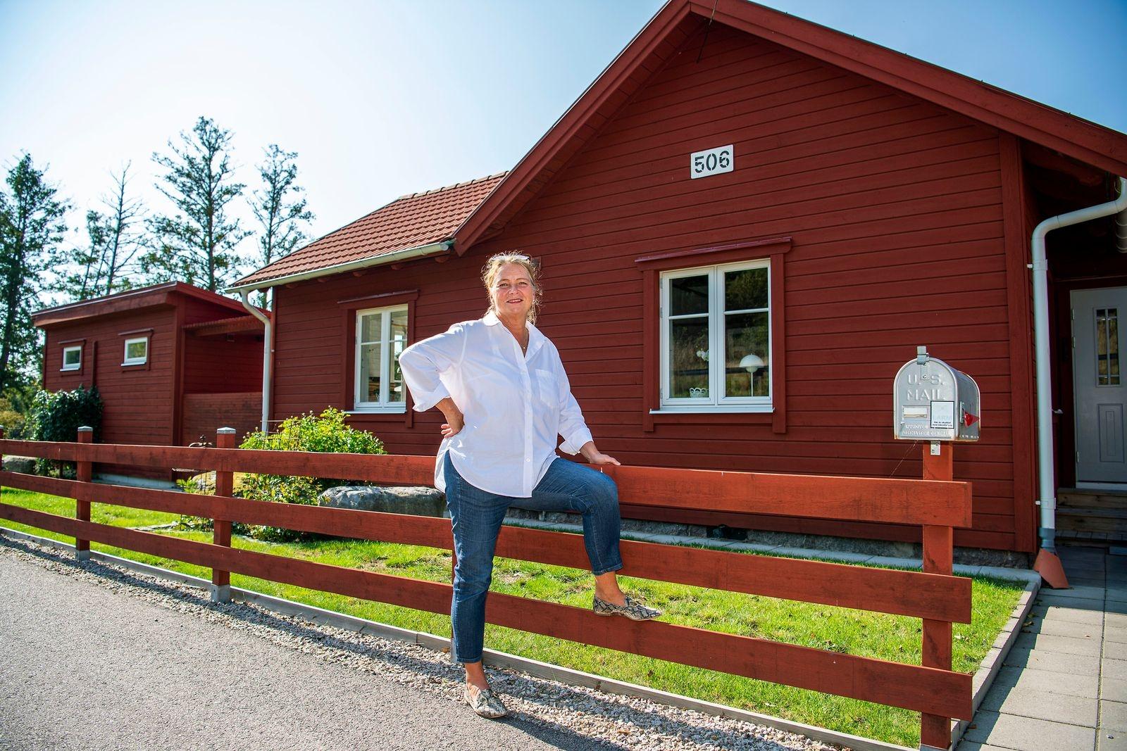 Hemma hos Åsa Hjelm.