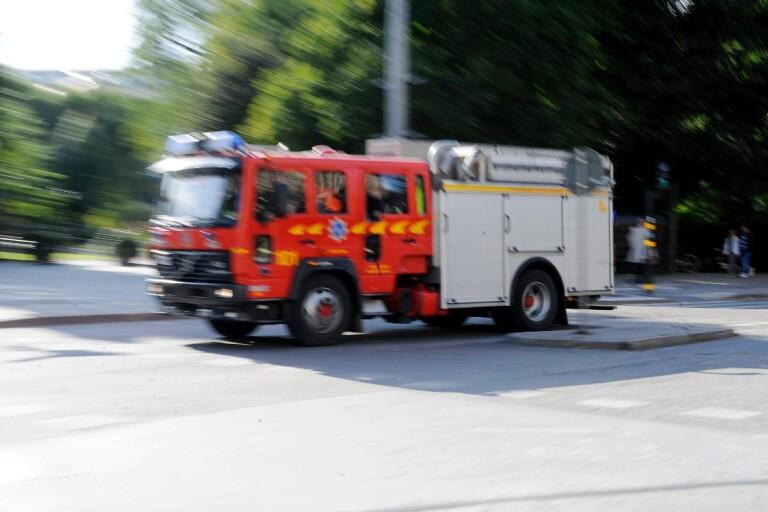 """Sjuhärad: Halmbal i lågor: """"En bedrift att få eld på"""""""