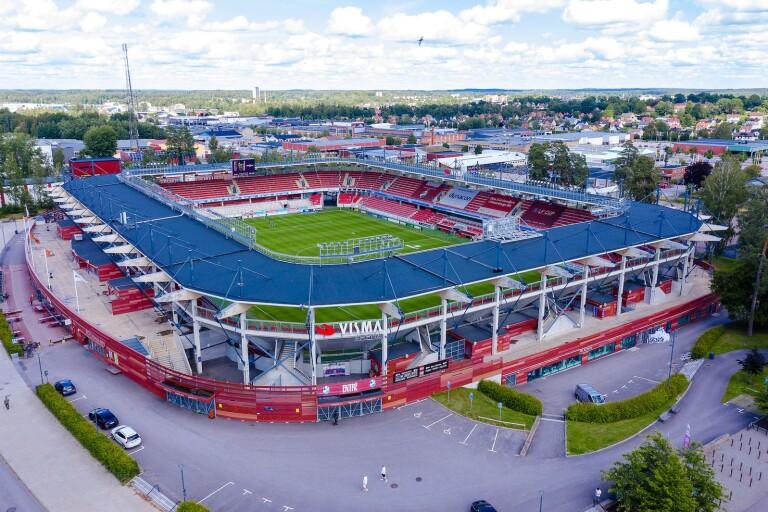 Kommunen ger miljoner för utveckling av Visma Arena