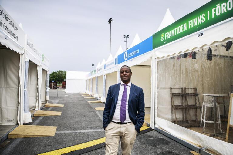 Ahmed Abdirahman säger att debatten kring gängkriminalitet och kriminella familjenätverk, klaner, riskerar att bli ensidig. Arkivbild.