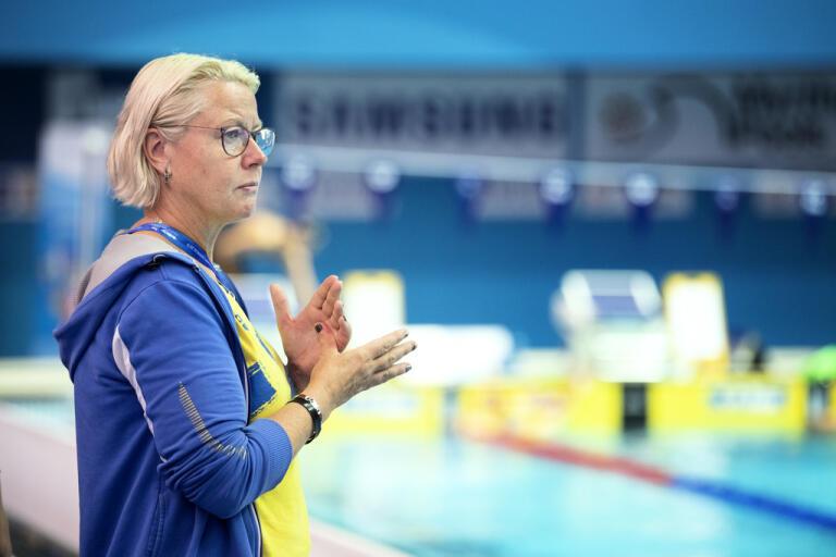 Ulrika Sandmark vill leda landslaget över OS i Tokyo, sedan är hon inne på att sätta punkt för sin tid som förbundskapten. Arkivbild.
