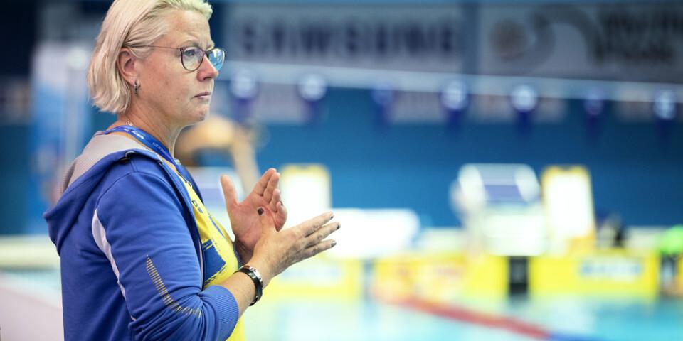 Ulrika Sandmark blir kvar som förbundskapten över OS i Tokyo nästa år. Arkivbild.