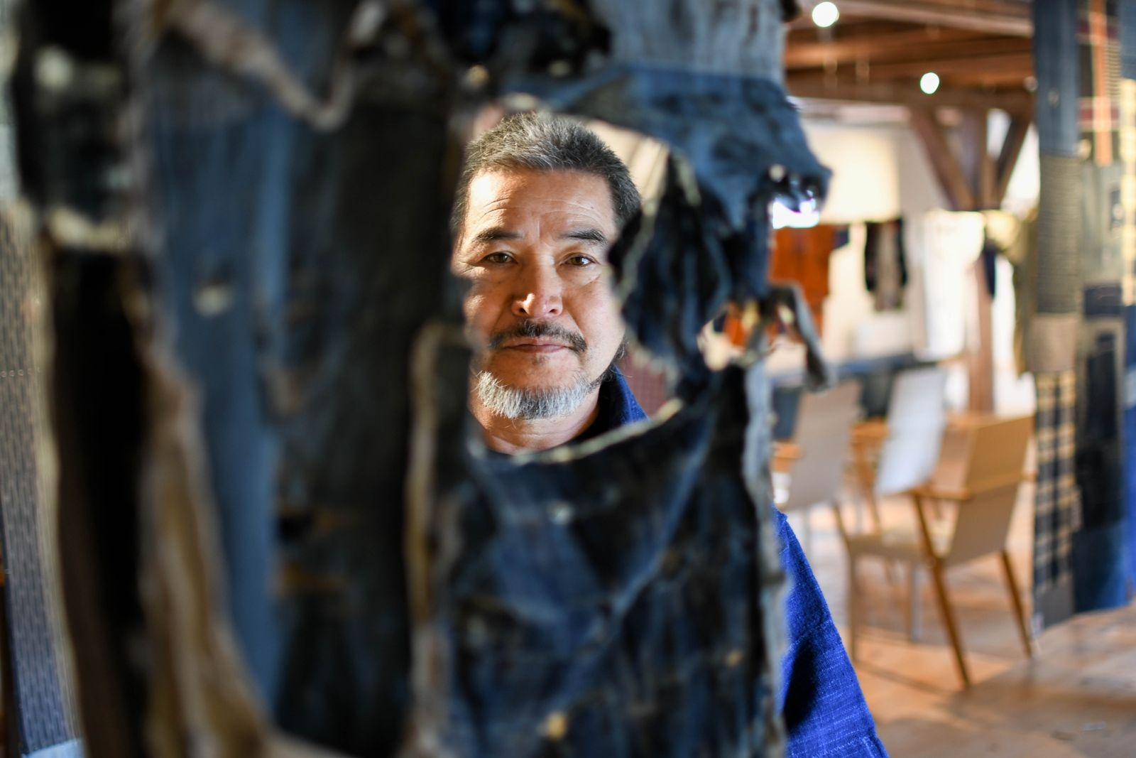 Mottainai är ett japanskt uttryck med innebörden: slösa inte. Det är också namnet Takao Momiyamas utställning på Österlens museum.