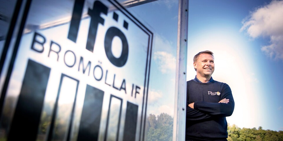 Jonas Andersson, sportchef i Ifö Bromölla.
