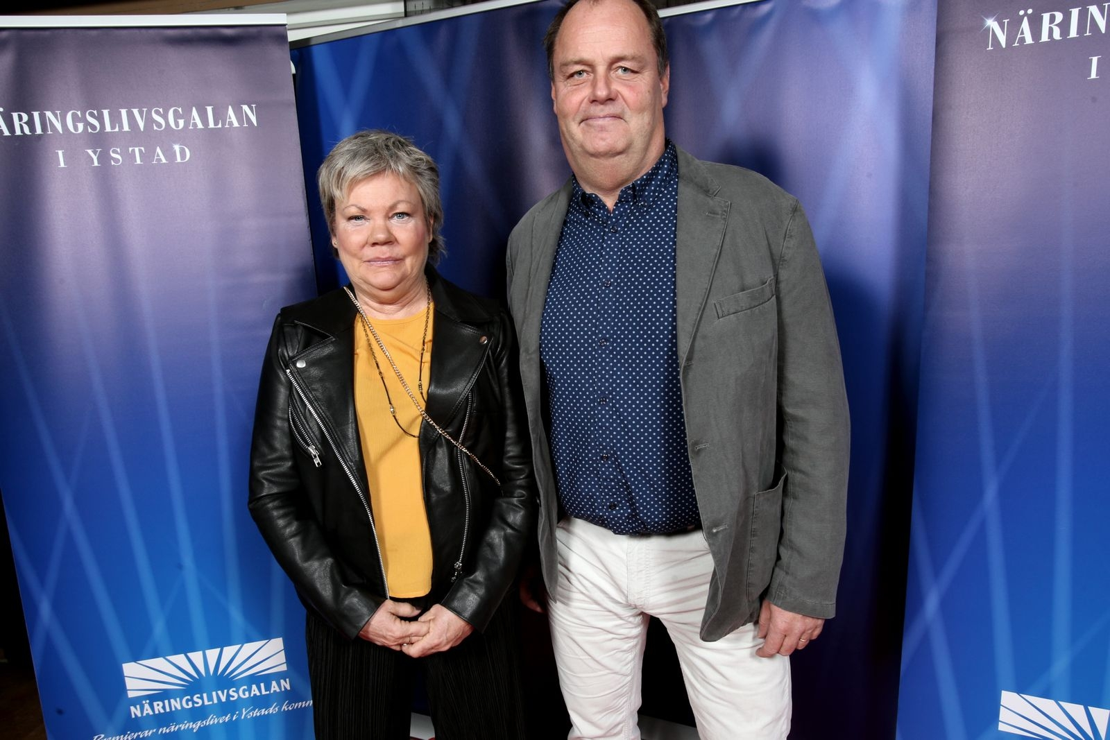 Bitte Solvestad och Lars-Inge Persson, Ystad gymnasium