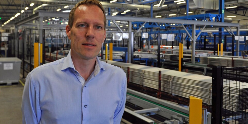 Rickard Olsson,  Wip Industries.
