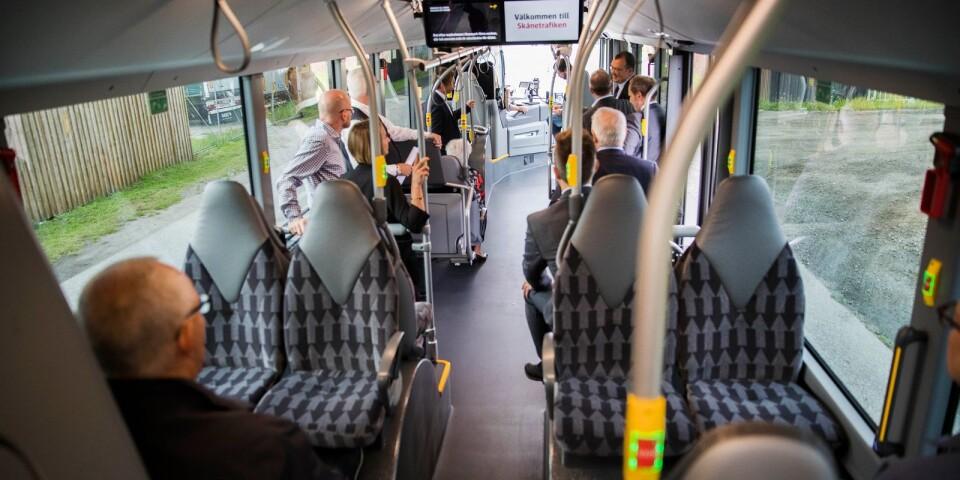 Det ska vara tryggt att åka med Skånetrafiken och att jobba där.