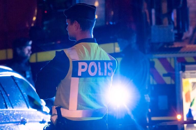 Två anhållna efter misstänkt mordbrand vid köpcentrum