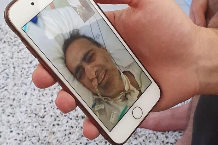 """Nabeel fick covid-19 och låg 32 dagar i respirator: """"När jag vaknade trodde jag att jag sovit någon dag"""""""
