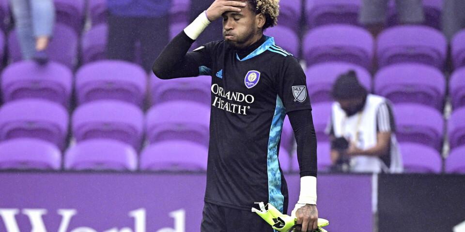 Orlando Citys målvakt Pedro Gallese trodde att han var matchvinnare. I stället blev han utvisad.