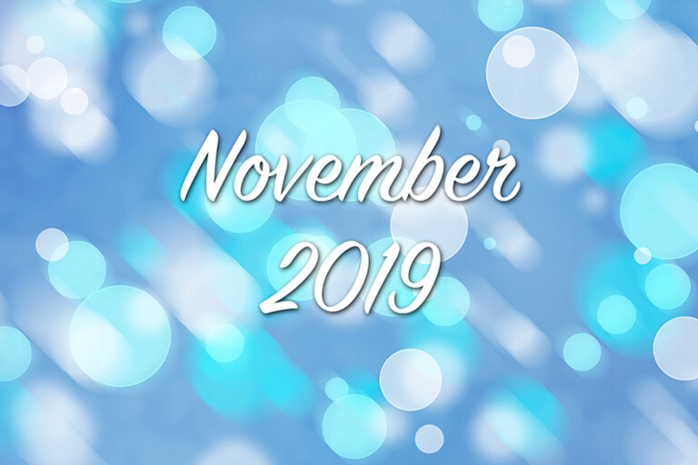 Välkommen till världen november 2019