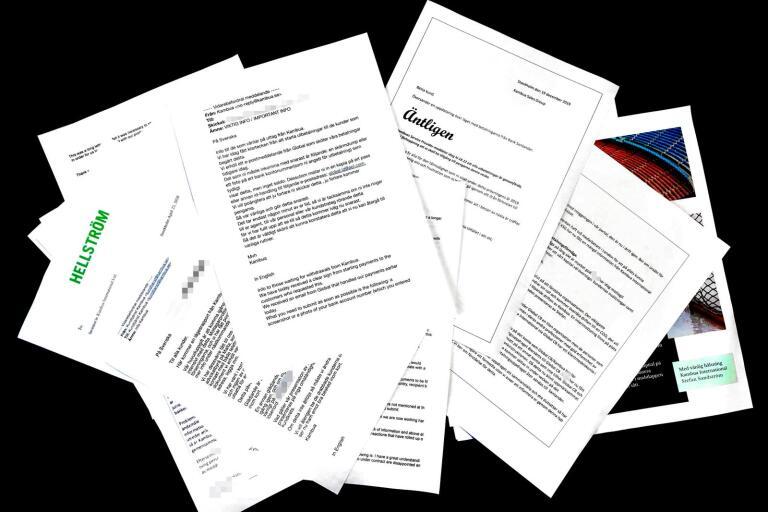 Kambuas kunder har fått en lång rad olika förklaringar till betalningsproblemen. Här är några av alla mejl.