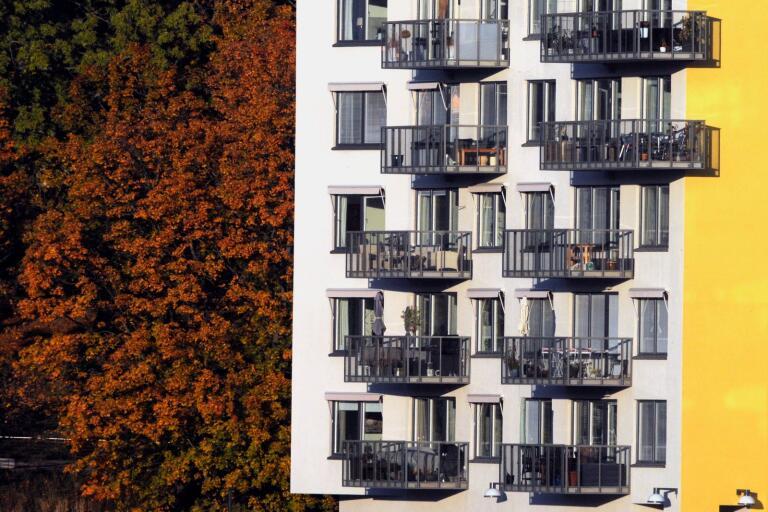 Mer marknad och mer omsorg – så ser sambandet ut bakom en hållbar social bostadsförsörjning.Foto Hasse Holmberg / TT Kod 96