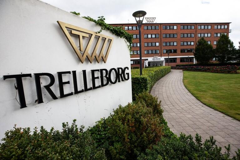 Trelleborg AB:s huvudkontor i Trelleborg.