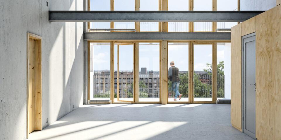Fastighetsutvecklaren Raw Property och Riksmäklaren i Uppsala har tagit fram ett koncept där bostadsrätter säljs utan innerväggar och ytskikt.
