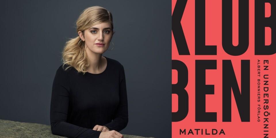 """Matilda Gustavssons reportagebok """"Klubben"""" toppar Boktoppen även denna vecka."""