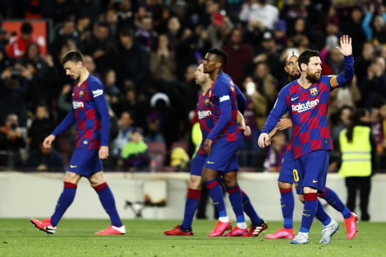 Lionel Messi och resten av Barcelona får snart spela matcher igen. Arkivbild.