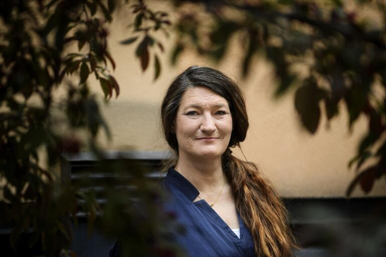Susanna Gideonsson väljs snart till ny ordförande för LO. Var finns politiken på arbetsplatserna mot Sverigedemokraterna? Foto: Jessica Gow / TT