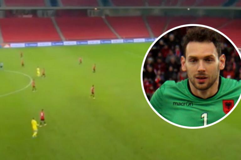 TV: Spektakulära målet ställer förre KFF-målvakten