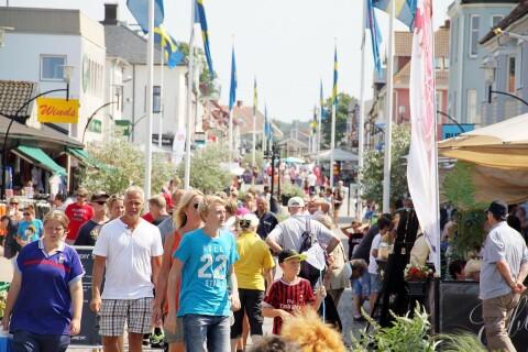 Färre turister på Öland än förra året