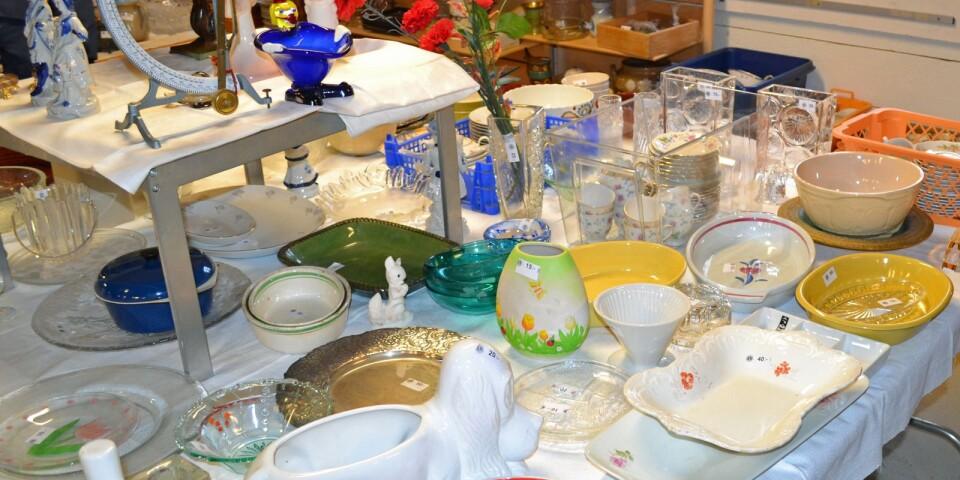 Här finns allt från möbler till smycken... Plats för fynd.