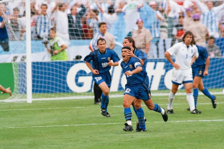 """""""Maradona slår allt annat jag sett på en fotbollsplan"""""""