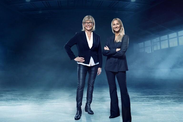 Katarina Hultling och Angelica Olsson.