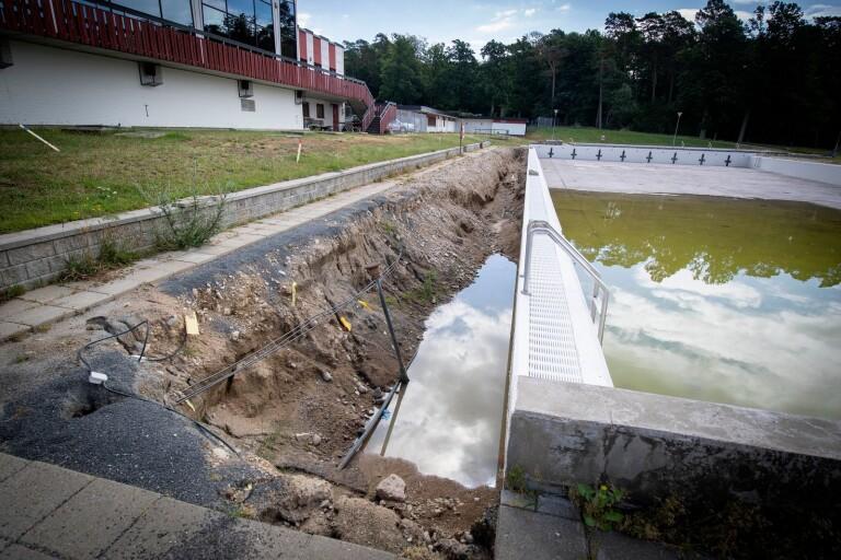 Badet stängt även nästa sommar