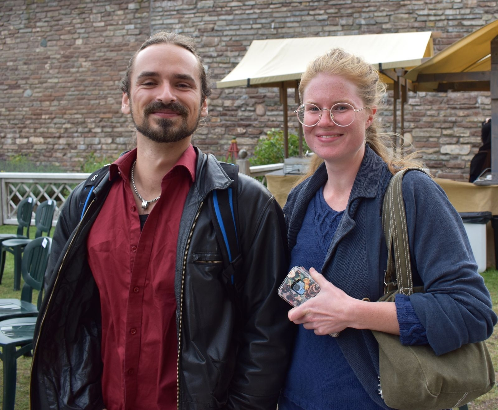 Dean Mundeling och Evelina Åkerman.