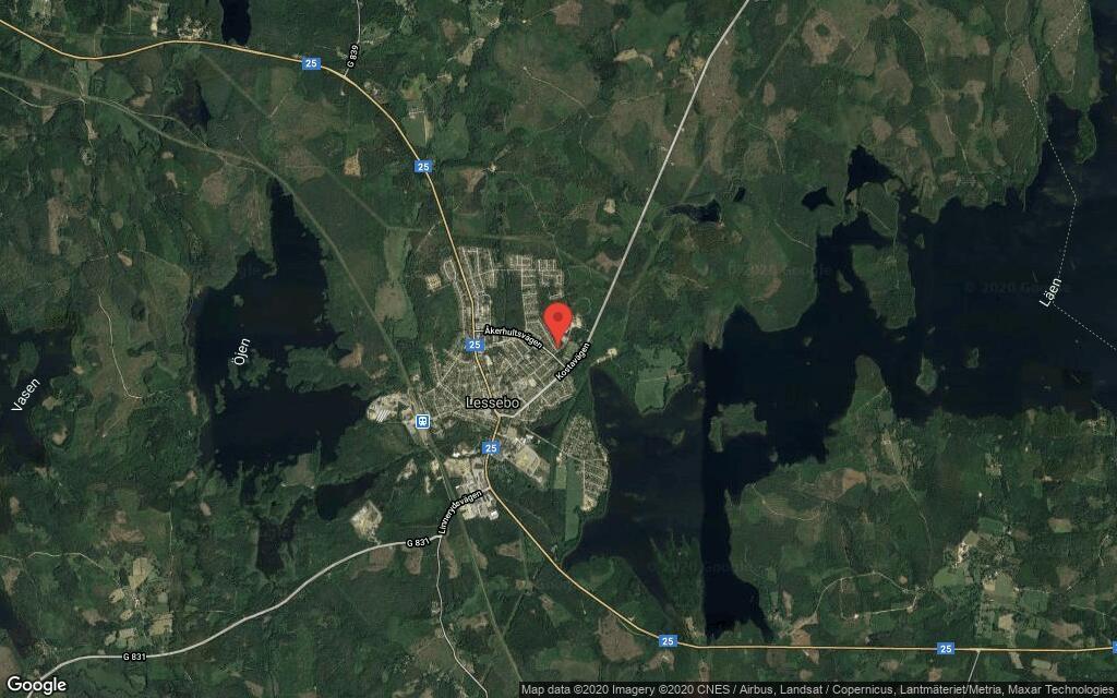 145 kvadratmeter stort hus i Lessebo sålt till ny ägare