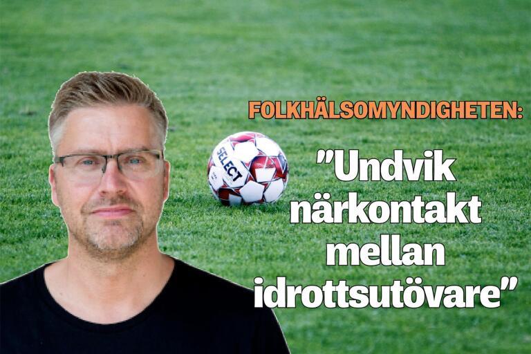 Blekingesports Bosse Johnsson fattar inte hur Svenska Fotbollsförbundet resonerar när Folkhälsomyndighetens rekommendationer är glasklara.