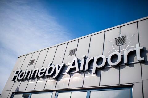 Flyglinje till Frankfurt tidigast 2021