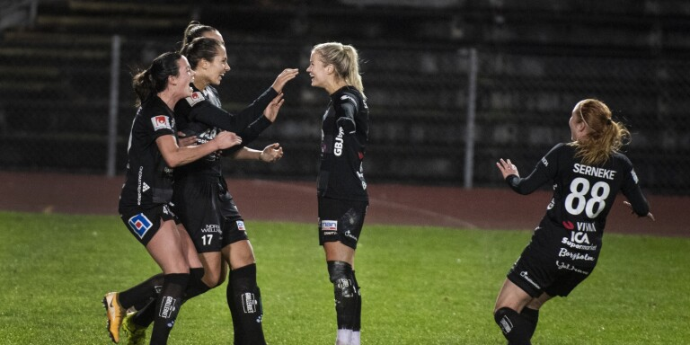 Amanda sköt kvar Växjö DFF i Allsvenskan