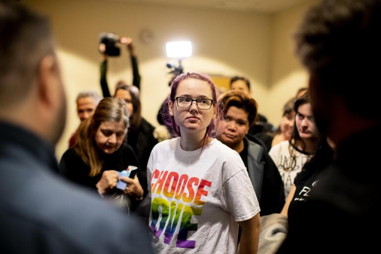 Aktivisten Elin Ersson överklagar hovrättsdomen till Högsta domstolen (HD). Arkivbild.